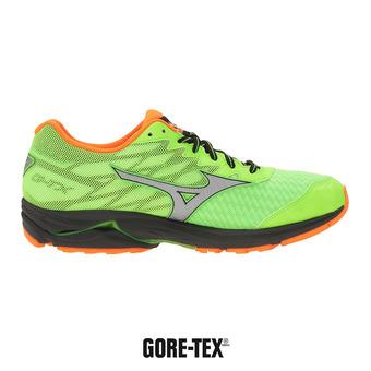 Zapatillas de running hombre WAVE RIDER 20 GTX® green gecko/silver/clownfish