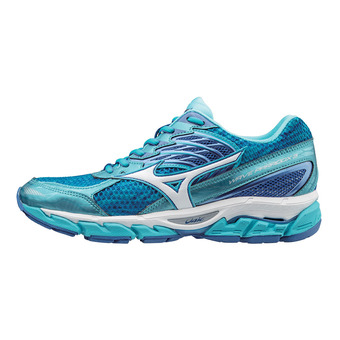 Zapatillas de running mujer WAVE PARADOX 3 blue atol/white/strong blue