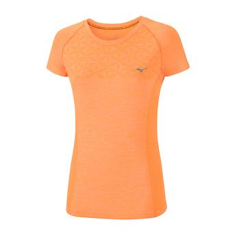 Maillot MC femme TUBULAR HELIX orange pop