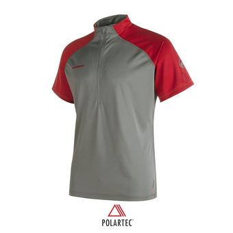 Camiseta hombre ATACAZO LIGHT titanium/lava