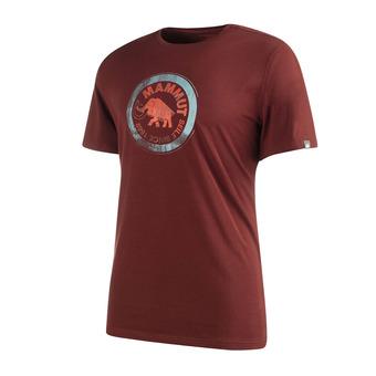 Camiseta hombre SEILE maroon