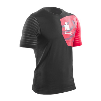 Maillot MC homme TRAINING IRONMAN 17 black/red