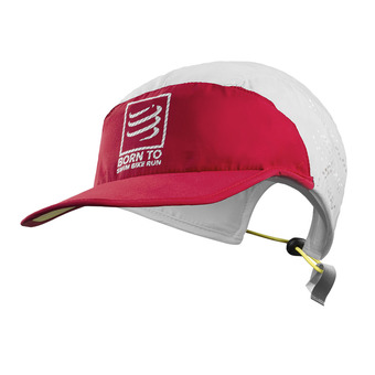Casquette SB RUN white/red
