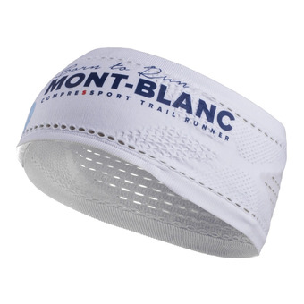 Cinta deportiva ON/OFF MONT BLANC 17 white