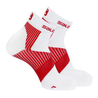 Calcetines hombre SENSE SUPPORT white/red