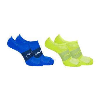 Pack de 2 pares de calcetines hombre SONIC 2P lime punch/surf the web
