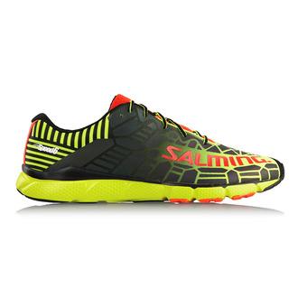 Zapatillas running hombre SPEED 6 flúor amarillo/negro