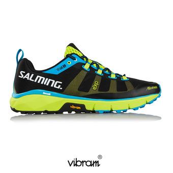 Chaussures trail homme TRAIL T5 noir/fluo vert