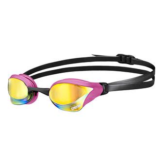 Gafas de natación COBRA CORE MIRROR pink/black