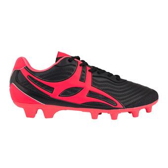 Chaussures rugby homme SIDETEP V1 MSX noir/rouge