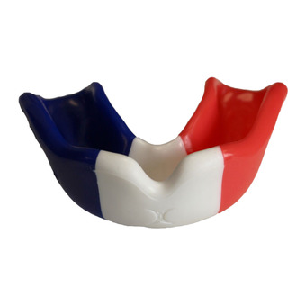 Protège-dents DRAPEAU bleu/blanc/rouge