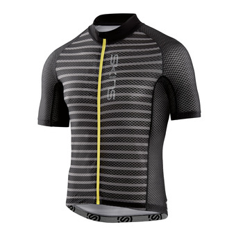 Camiseta hombre CYCLE LOVECAT X-LIGHT black/pewter stripe