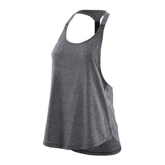 Camiseta de tirantes mujer ACTIVEWEAR REMOTE T BAR black/marle