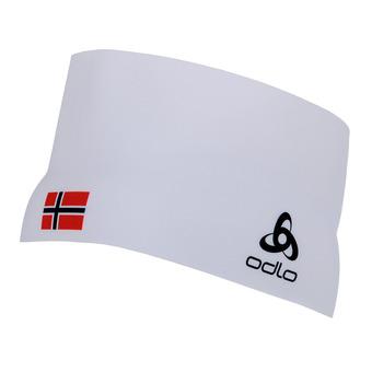 Cinta deportiva COMPETITION TEAM white/norwegian flag
