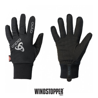 Gants Windstopper® CLASSIC WARM black