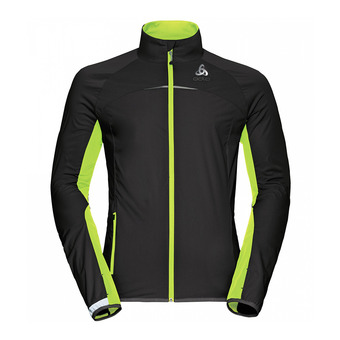 Veste homme Softshell ZEROWEIGHT 3L black/safety yellow