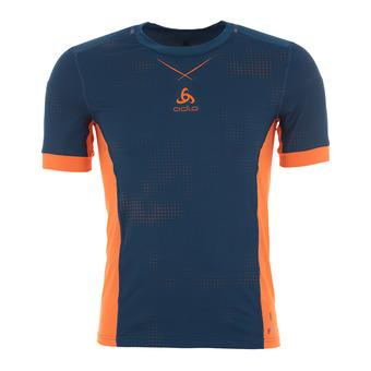 Camiseta hombre SMART CERAMICOOL blue opal/orangeade