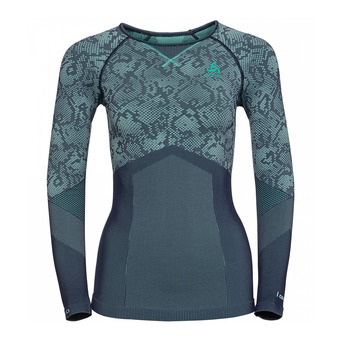 Camiseta térmica mujer BLACKCOMB EVOLUTION WARM peacoat/mint leaf/mint leaf