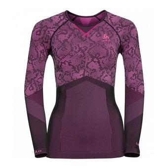 Camiseta térmica mujer BLACKCOMB EVOLUTION WARM black/pink glo