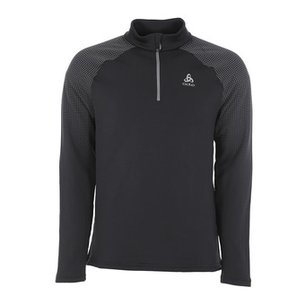 Sweat 1/2 zip homme SNOWCROSS odlo graphite grey