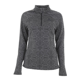 Sweat 1/2 zip femme GOD JUL castlerock aop