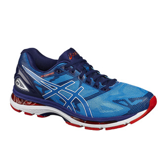 Chaussures running homme GEL-NIMBUS 19 diva blue/white/indigo blue