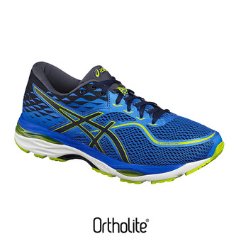 Zapatillas de running hombre GEL-CUMULUS 19 directoire blue/peacoat/energy green
