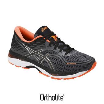 Chaussures running homme GEL-CUMULUS 19 carbon/black/hot orange