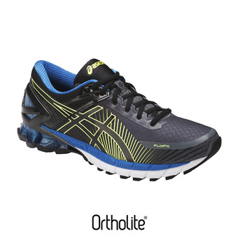 Chaussures running homme GEL-KINSEI 6 carbon/black/electric blue