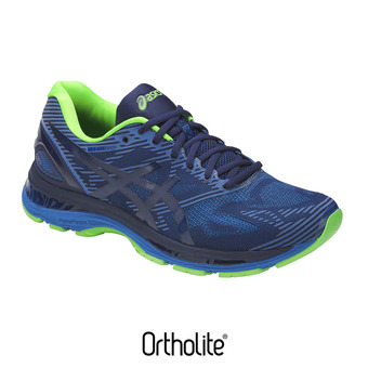 Chaussures running homme GEL-NIMBUS 19 LITE-SHOW indigo blue/directoire blue/reflective