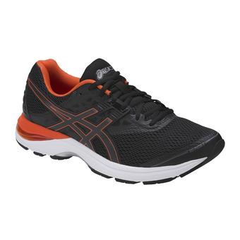 Zapatillas de running hombre GEL-PULSE 9 black/cherry tomato/carbon