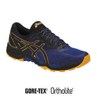 Zapatillas de trail hombre GEL-FUJITRACUBO 6 G-TX limoges/black/gold fusion