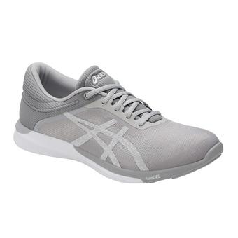 Zapatillas de running mujer FUZEX RUSH white/silver/m111 grey