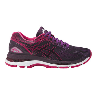 Chaussures running femme GEL-NIMBUS 19 black/cosmo pink/winter bloom