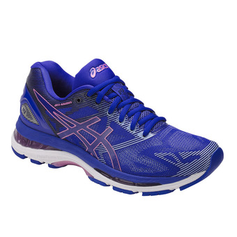 Chaussures running femme GEL-NIMBUS 19 blue purple/violet/airy blue