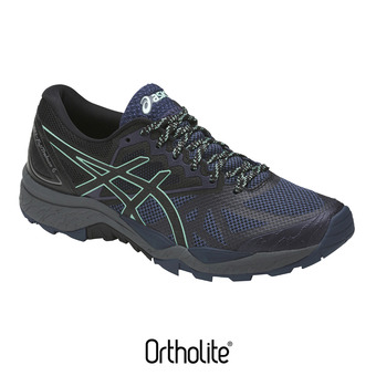 Chaussures trail femme GEL FUJITRABUCO 6 insignia blue/black/ice green