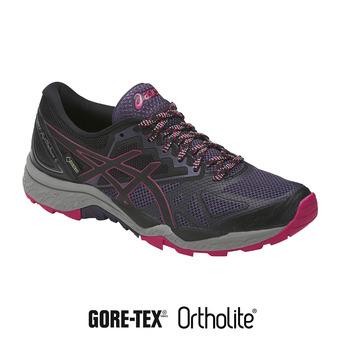 Zapatillas de trail mujer GEL-FUJITRACUBO 6 G-TX 136sterioso/black/cosmo pink