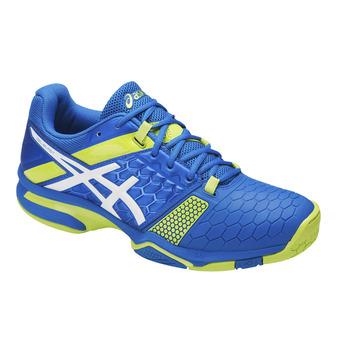 Chaussures handball homme GEL-BLAST 7 directoire blue/energy green/white