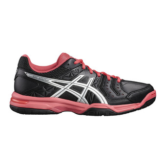 Chaussures handball femme GEL-SQUAD black/silver/rouge red