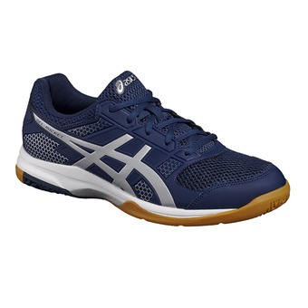 Zapatillas de voleibol hombre GEL-ROCKET 8 indigo blue/silver/white