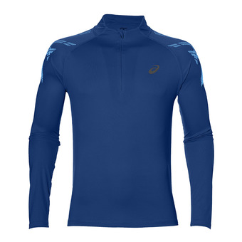 Camiseta hombre ASICS STRIPE limoges heather