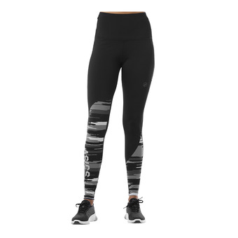 Mallas mujer FUZEX HIGHWAIST performance black/impulse dark grey