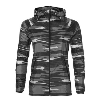 Chaqueta mujer FUZEX PACKABLE impulse dark grey