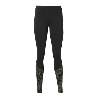Collant femme RACE lite stripe performance black