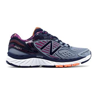 Zapatillas running mujer 860 V7 grey/purple