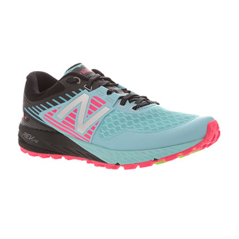Chaussures trail femme 910 V4 blue/pink