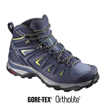 Chaussures randonnée femme X ULTRA 3 MID GTX® crown blue/evening
