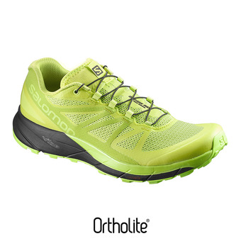 Chaussures trail homme SENSE RIDE lime punch/lime green/b
