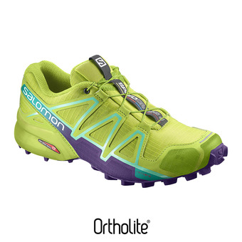Chaussures trail femme SPEEDCROSS 4  lime punch/biscay g