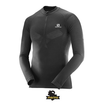 Maillot ML homme EXO MOTION HZ black